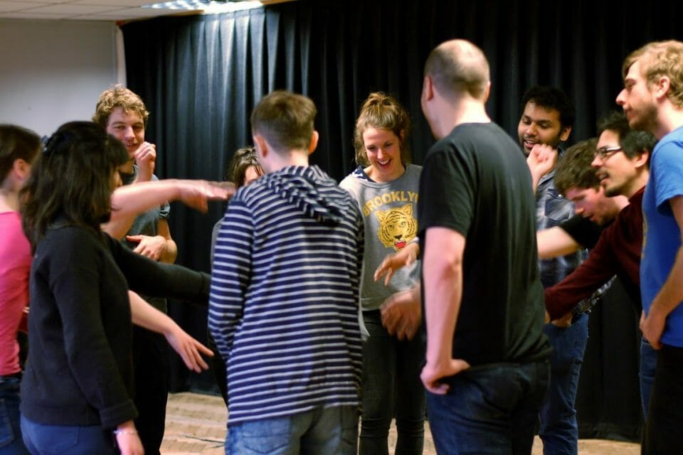 beginners improv workshop