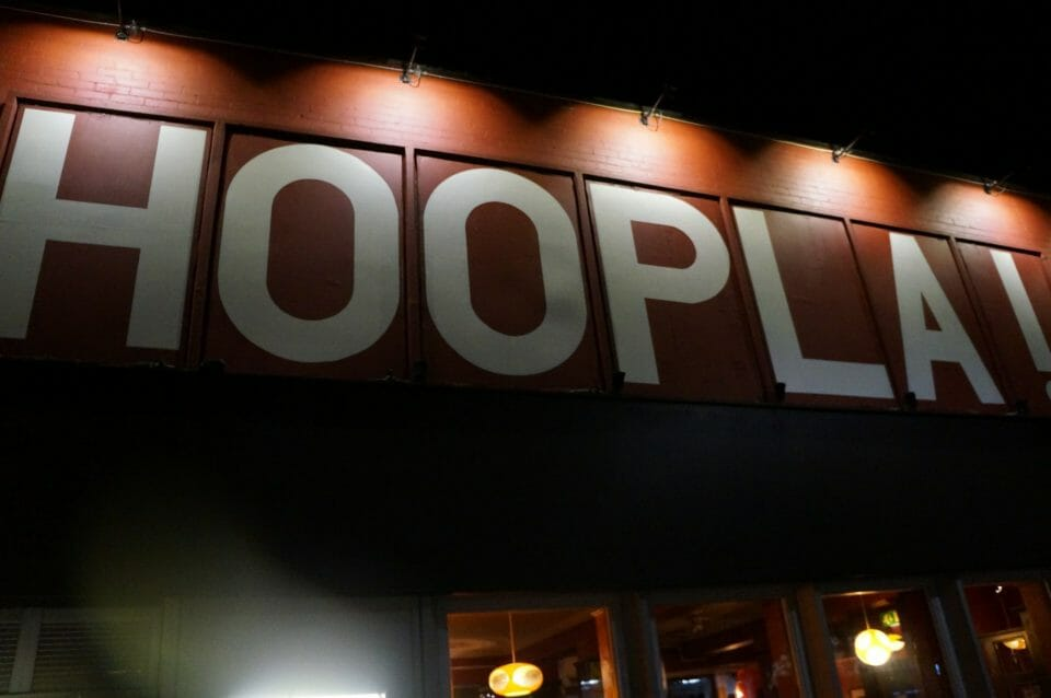 Hoopla night