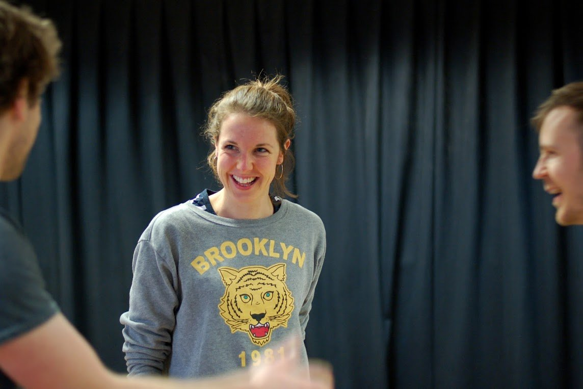 Hoopla impro workshop Laura