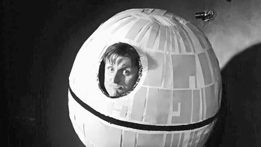 Steve Death Star bw 16 9